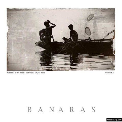 Brand New Designs, Banaras 5 Artwork | Artist: Pradeesh K, - PosterGully