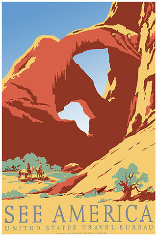 Wall Art, See America Canyon, - PosterGully
