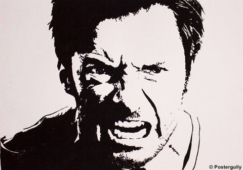 Wall Art, Wolverine Sketch Black, - PosterGully