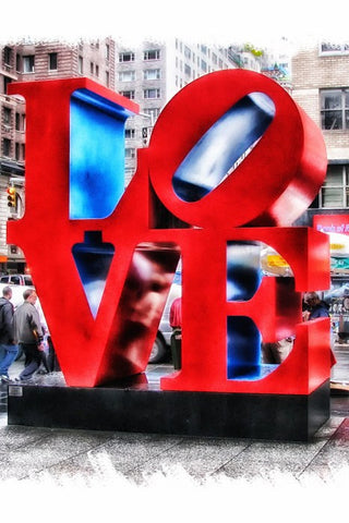 Wall Art, Love New York, - PosterGully