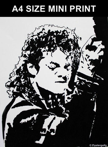 Mini Prints, Michael Jackson | Black Artwork | Mini Print, - PosterGully