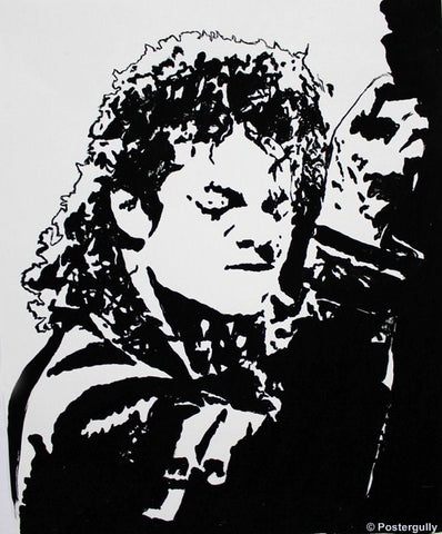 PosterGully Specials, Michael Jackson | Black Artwork, - PosterGully