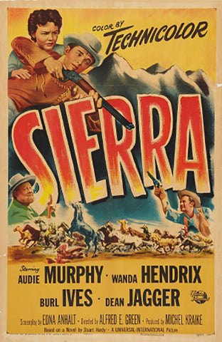Wall Art, Sierra | Retro Movie Poster, - PosterGully - 1