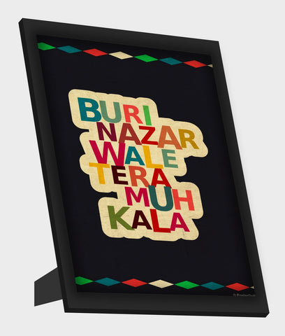 Framed Art, Buri Nazar Framed Art, - PosterGully