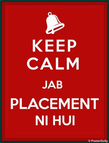 Wall Art, Keep Calm | Placement, - PosterGully