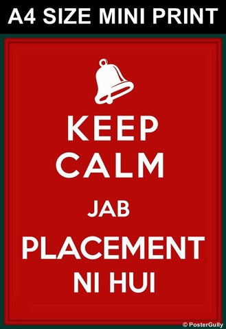 Mini Prints, Keep Calm | Placement | Mini Print, - PosterGully