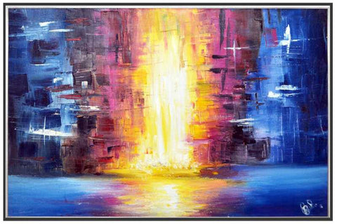 Wall Art, Firefall Fountain Artwork | Artist: Anirudh Khanna, - PosterGully