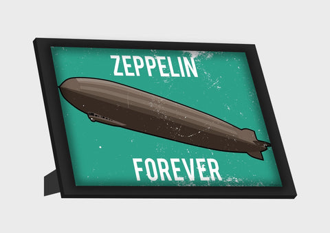 Framed Art, Led Zeppelin Forever Framed Art, - PosterGully