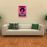 Canvas Art Prints, Jimi Hendrix Stretched Canvas Print, - PosterGully - 3