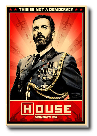 Canvas Art Prints, House M.D Stretched Canvas Print, - PosterGully - 1