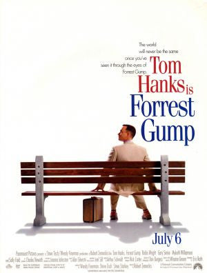 PosterGully Specials, Forrest Gump, - PosterGully