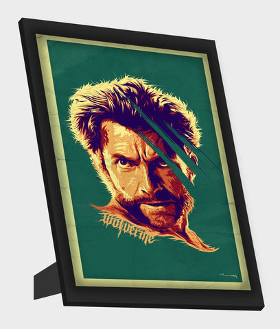 Framed Art, Wolverine Framed Art, - PosterGully