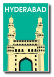 Canvas Art Prints, Hyderabad Stretched Canvas Print, - PosterGully - 1