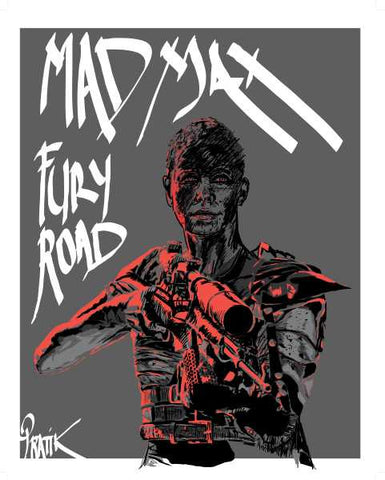 Wall Art, Madmax Fury Road | Artist: Pratik Kamat, - PosterGully