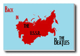 Wall Art, Back In The USSR Beatles | Artist: Revant Mahajan, - PosterGully - 2