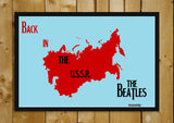 Wall Art, Back In The USSR Beatles | Artist: Revant Mahajan, - PosterGully - 3