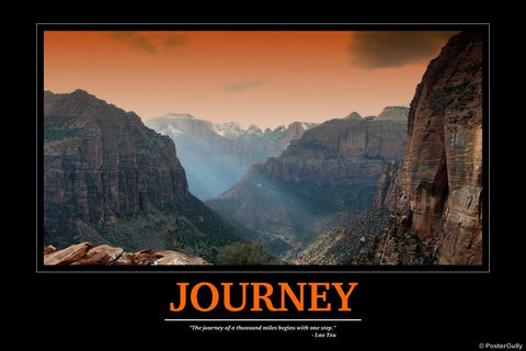 Wall Art, Journey | Motivational, - PosterGully