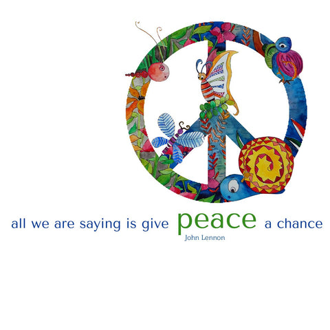 PosterGully Specials, Give Peace A Chance, - PosterGully