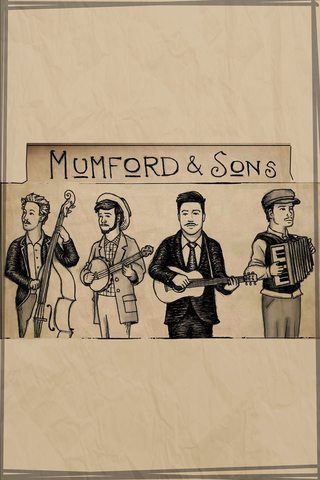PosterGully Specials, Mumford & Sons, - PosterGully