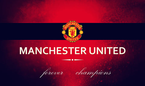 PosterGully Specials, Forever Champions | Manchester United, - PosterGully