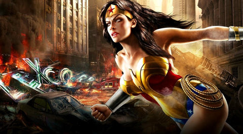 PosterGully Specials, Wonder Woman, - PosterGully