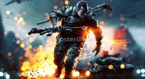PosterGully Specials, Battlefield 4 China Rising, - PosterGully