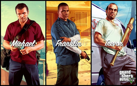 PosterGully Specials, Michael Franklin | GTA 5, - PosterGully