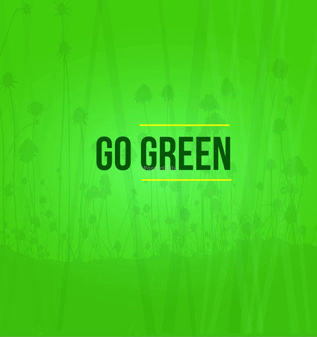 Wall Art, Go Green, - PosterGully