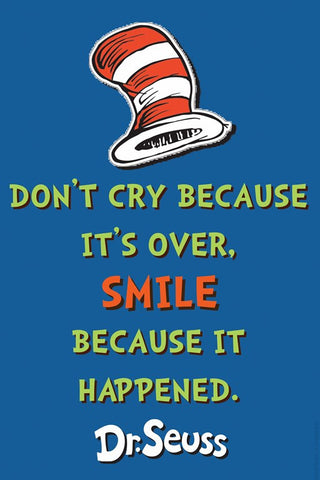 Wall Art, Dr. Seuss Quote, - PosterGully