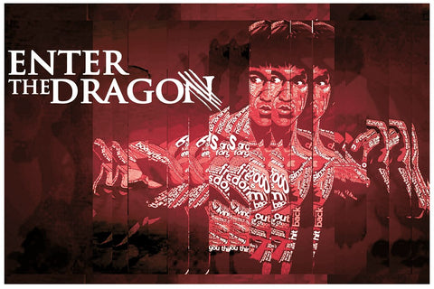 PosterGully Specials, Enter The Dragon | Bruce Lee, - PosterGully