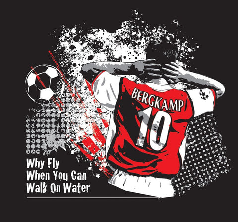 PosterGully Specials, Dennis Bergkamp Quote, - PosterGully