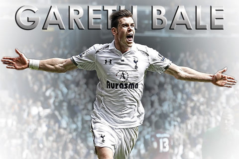 PosterGully Specials, Gareth Bale | EPL, - PosterGully