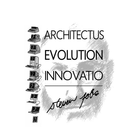 PosterGully Specials, Architectural Evolution | Steve Jobs, - PosterGully