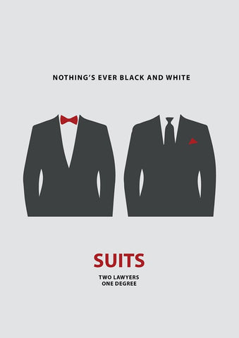 PosterGully Specials, Suits | Minimal Art, - PosterGully
