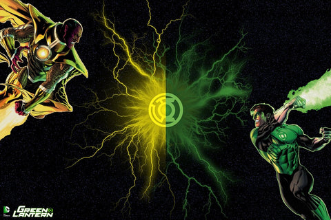 PosterGully Specials, Green Lantern DC Comics, - PosterGully