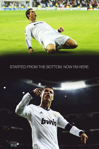 PosterGully Specials, Ronaldo | Now I Am Here, - PosterGully