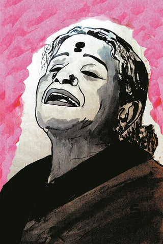 Wall Art, M S Subbulakshmi | Carnatic Music, - PosterGully
