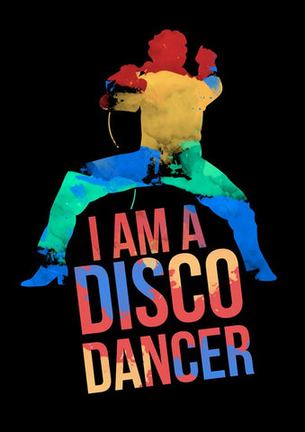 Wall Art, I Am A Disco Dancer | Mithun, - PosterGully