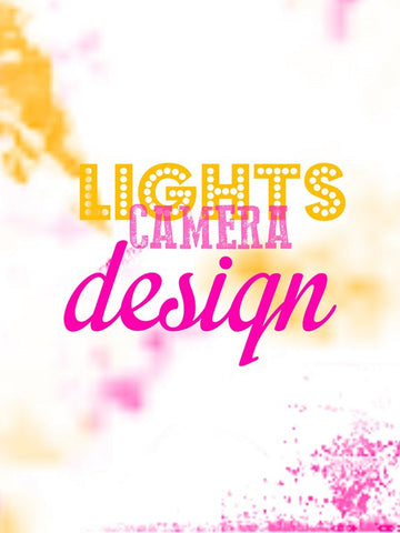 PosterGully Specials, Lights Camera Design, - PosterGully