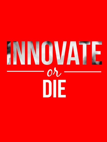 Wall Art, Innovate Or Die | Red Art, - PosterGully