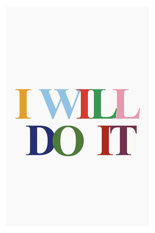 Wall Art, I Will Do It, - PosterGully