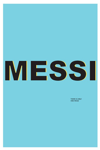 Wall Art, Messi Poster, - PosterGully