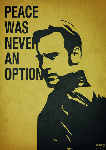 PosterGully Specials, Peace Was Never An Option, - PosterGully
