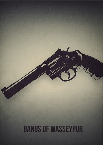 PosterGully Specials, Gangs Of Wasseypur Hand Pistol, - PosterGully