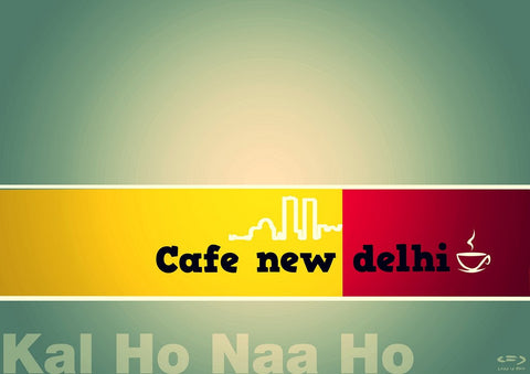 PosterGully Specials, Kal Ho Naa Ho | Café New Delhi, - PosterGully