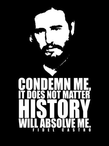 PosterGully Specials, Fidel Castro Quote, - PosterGully