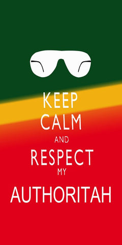 Wall Art, Keep Calm & Respect Authoritah | South Park, - PosterGully