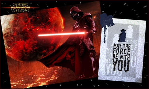 PosterGully Specials, Star Wars Quote, - PosterGully