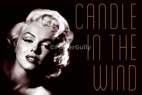 PosterGully Specials, Monroe Candle In The Wind, - PosterGully