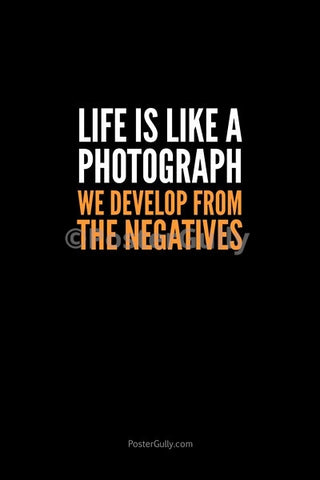 Wall Art, Life=Photograph, - PosterGully
